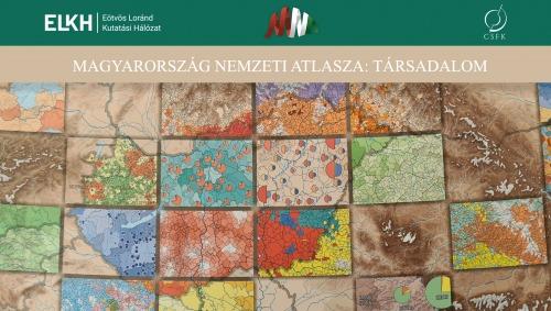"""Elkészült Magyarország Nemzeti Atlaszának """"Társadalom"""" című új kötete"""