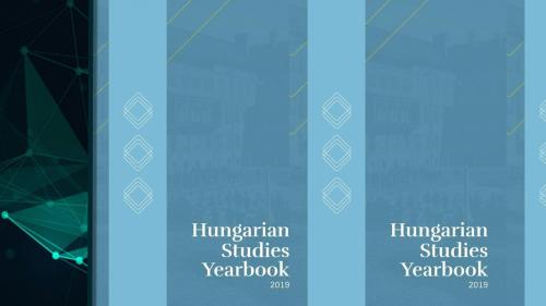 Megjelent a Hungarian Studies Yearbook első, tematikus száma