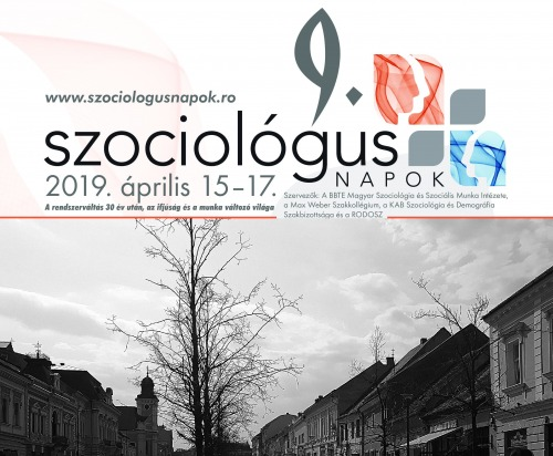 9. Szociológus Napok Kolozsváron