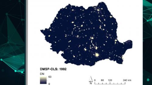 Összefüggés az éjszakai fények és a gazdasági teljesítmény, valamint a regionális egyenlőtlenségek között