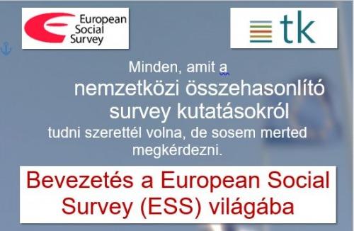 Bevezetés az European Social Survey (ESS) világába