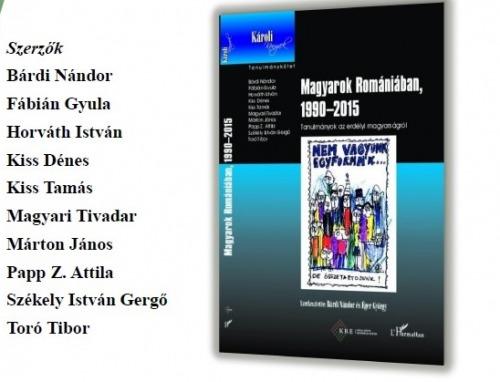 Magyarok Romániában, 1990–2015 című könyv bemutatója