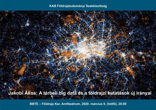 A térbeli Big Data és a földrajzi kutatások új irányai