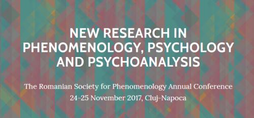 New Research in Phenomenology, Psychology and Psychoanalysis – nemzetközi konferencia