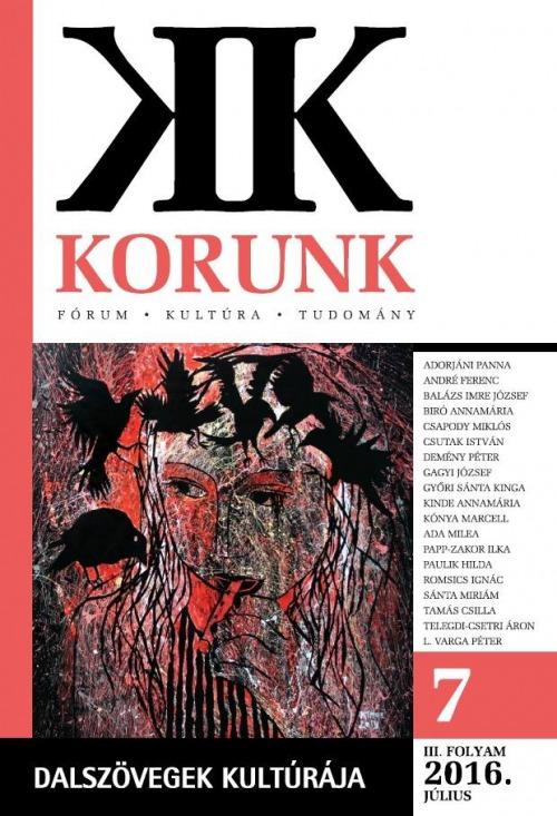 Recenzió a Korunk foyóiratban