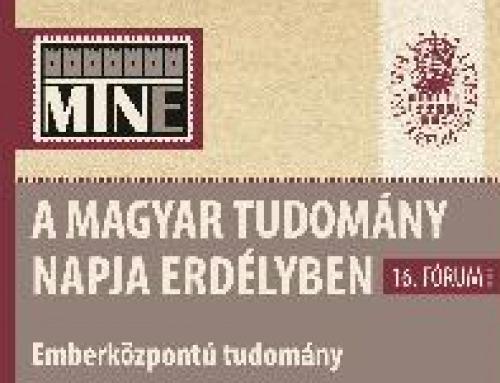 Az Erdélyi Múzeum-Egyesület ünnepi konferenciája a Magyar Tudomány Napja alkalmából