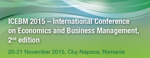 International Conference on Economics and Business Management 2015