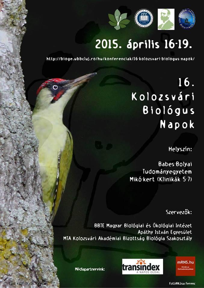 XVI. Kolozsvári Biológus Napok