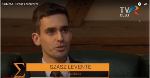 Summa: Beszélgetés Szász Levente közgazdásszal