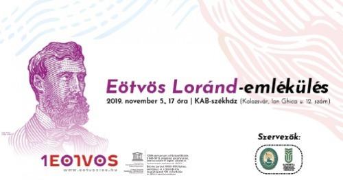 Emlékülés Eötvös Loránd halálának 100. évfordulóján