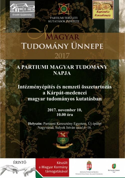Partiumi Magyar Tudomány Napja 2017